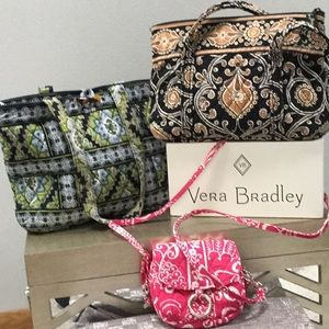 Vera Bradley 3 handbags, MAKE OFFER